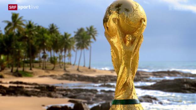 Video «Fussball: WM-Auslosung, Schweizer Gruppe» abspielen