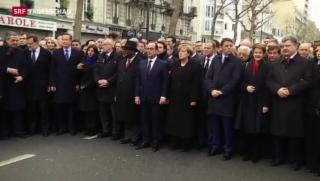 Video «Sommaruga an der Kundgebung in Paris» abspielen