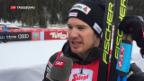 Video «Cologna gewinnt in Seefeld» abspielen