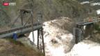 Video «Zugbrücke aus Winterschlaf geholt» abspielen