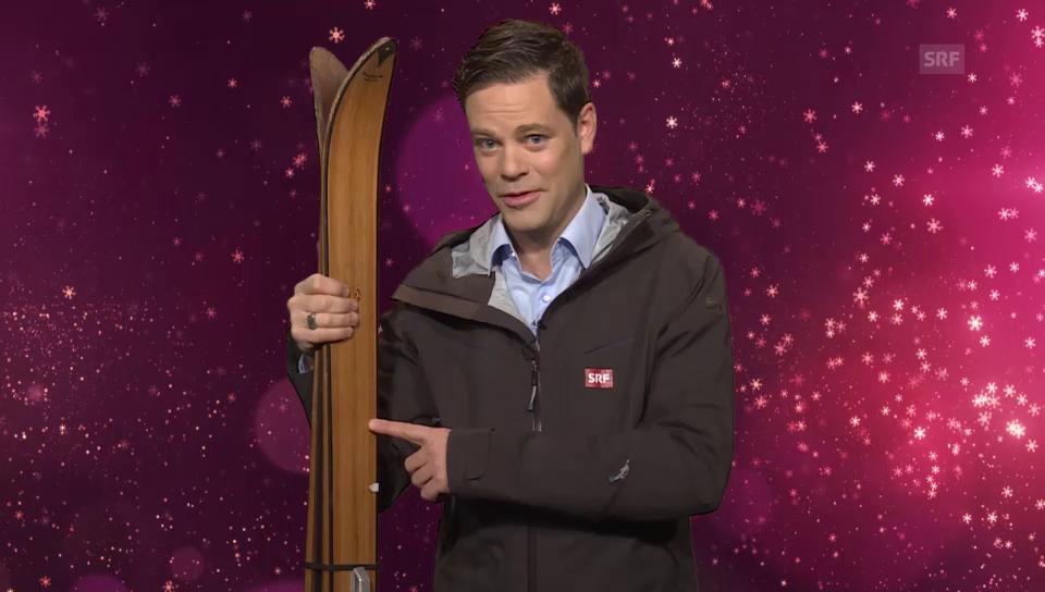 21. Dezember: Lukas Studer macht sie zum Ski-VIP
