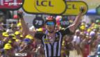 Video «Tour de France: Etappensieg für Cummings» abspielen