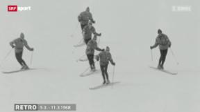 Video ««Retro» mit Beni und seinen Erinnerungen an das Sportjahr 1968» abspielen