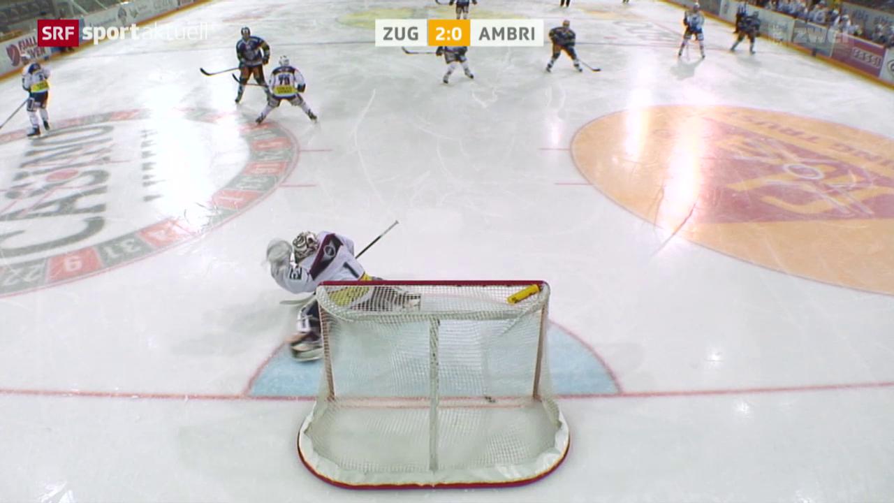Eishockey: NLA, Zug - Ambri