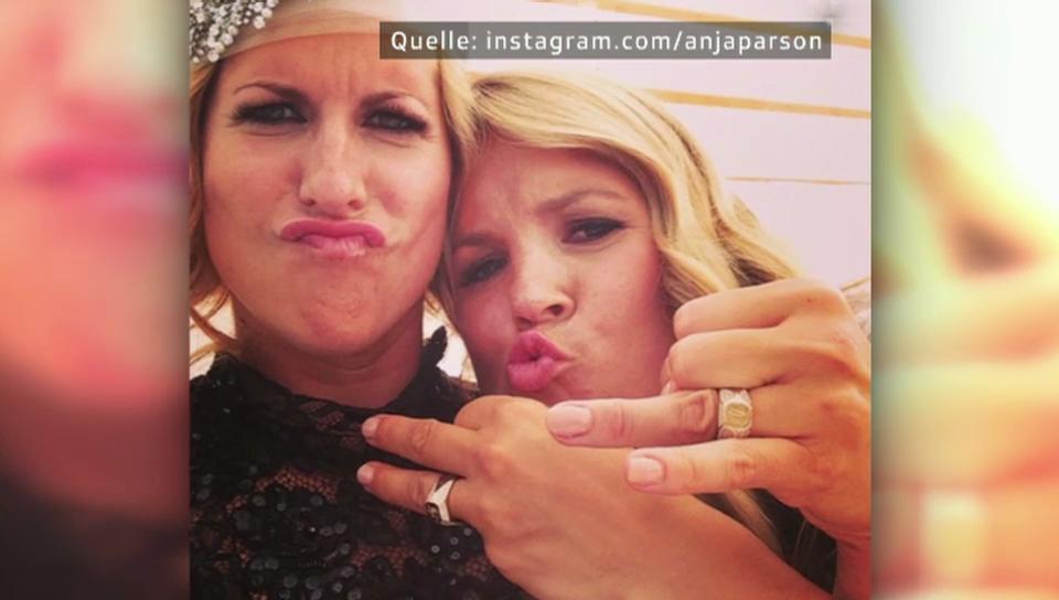 Eheglück: Anja Pärson hat geheiratet