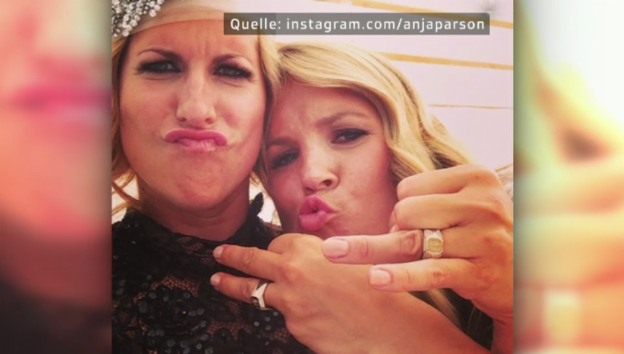 Video «Eheglück: Anja Pärson hat geheiratet» abspielen