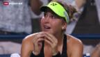 Video «Bencic schafft Einzug in den Final» abspielen