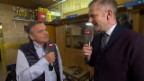 Video «Eishockey: Spengler Cup, René Fasel über die neuen Techniken im Eishockey» abspielen