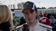 Link öffnet eine Lightbox. Video Giovinazzi: «Glücklich, den ersten GP beendet zu haben» abspielen