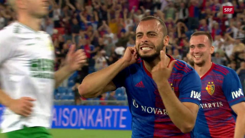 Cabral procura per tut ils trais gols da Basilea