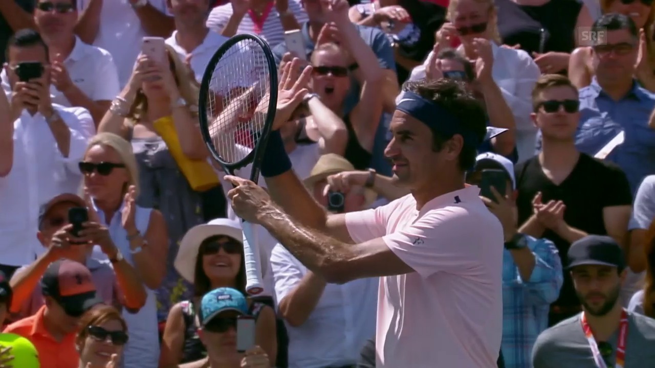 Federer macht mit Polansky kurzen Prozess