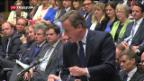 Video «Tories wählen Cameron-Nachfolge» abspielen