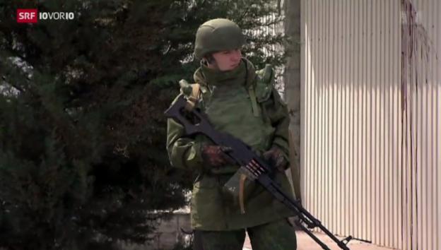 Video «Kiew zieht Soldaten zurück» abspielen