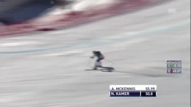 Video «Ski: Fahrt Nadja Kamer («sportlive»» abspielen