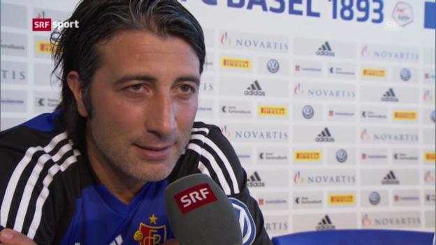 Video «Basel vor dem Spiel gegen Tel Aviv» abspielen