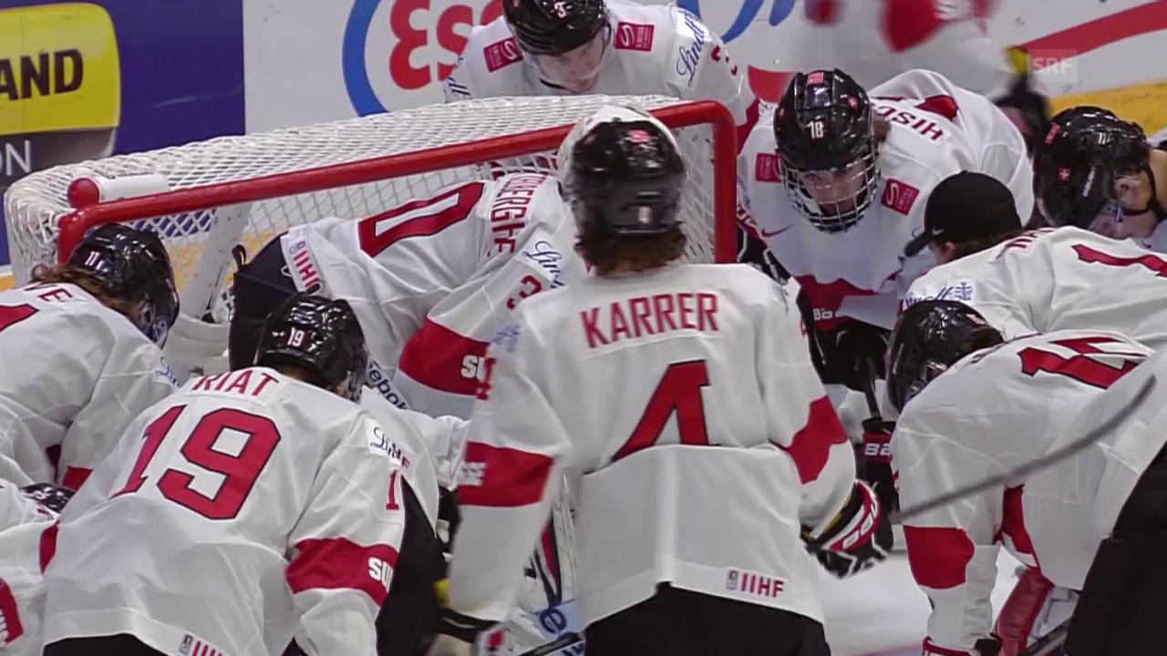 Eishockey: U20-WM, Schweiz-Kanada