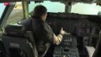 Video «Fliegerfans bauen aus Jumbo-Cockpit einen Simulator» abspielen