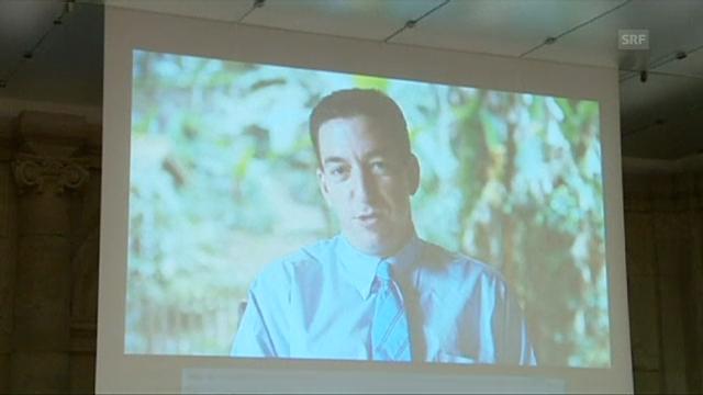Greenwald über den Award (Originalsprache Englisch)