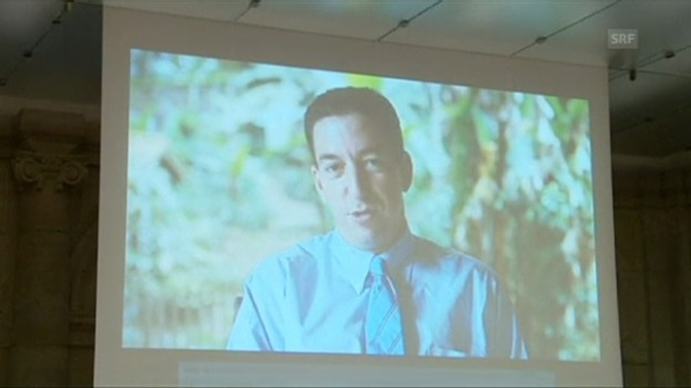 Video «Greenwald über den Award (Originalsprache Englisch)» abspielen