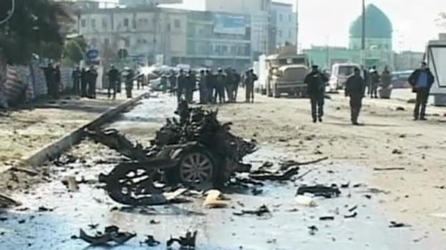 Video «Anschlag in Kirkuk» abspielen
