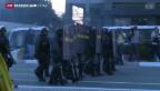 Video «Streiks und Proteste statt Fussballfieber» abspielen