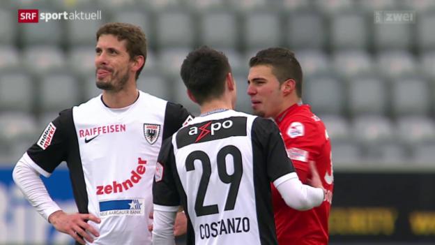 Video «Fussball, Super League: Thun - Aarau» abspielen