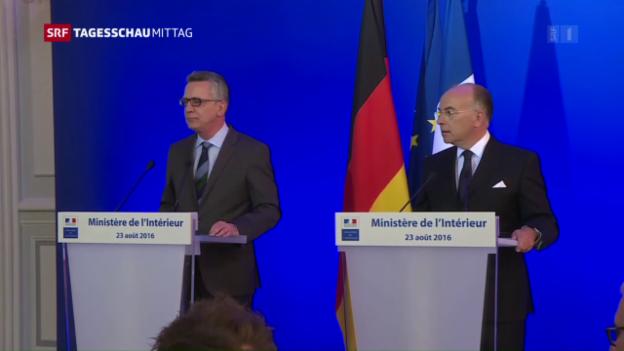 Video «Neue Massnahmen für Europas innere Sicherheit» abspielen