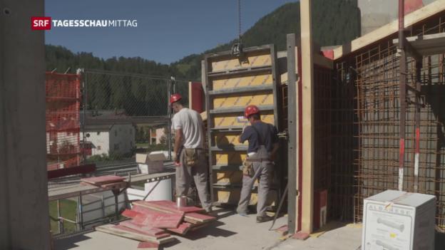 Video «Seco schraubt Prognose zurück» abspielen