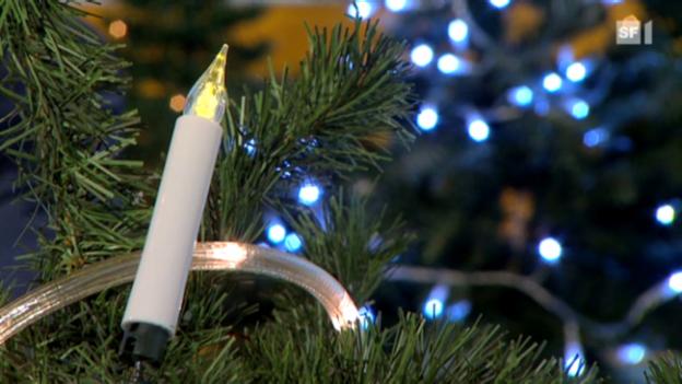 Video «LED-Lichterketten sparen viel Strom» abspielen