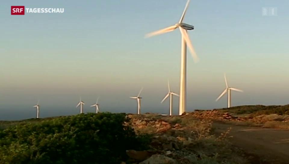 Axpo setzt auf Windkraft