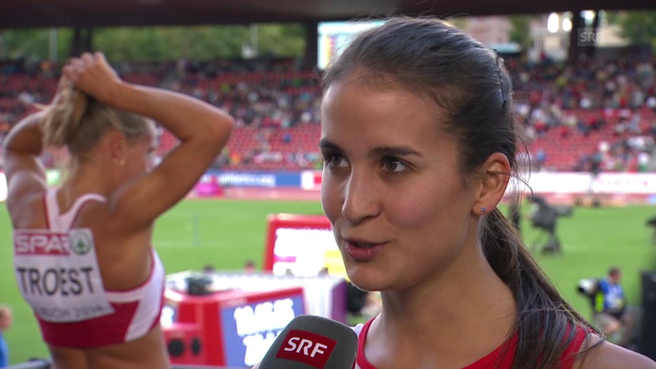 Leichtathletik: Hürdenläuferin Petra Fontanive im Interview