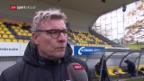 Video «Die Fussballer von den Färöer-Inseln im Porträt» abspielen