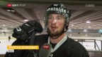 Video «Berns Scherwey und Jalonen vor dem Playoff-Final» abspielen