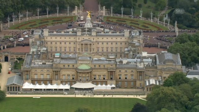 In den Buckingham Palast wurde eingebrochen (unkommentiert)