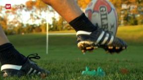 Video ««Tscheggsch de Pögg» : Der Rugby-Ball» abspielen