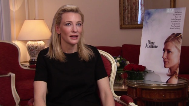 Video «Woody Alle, Cate Blanchett und Sally Hawkins im Interview» abspielen
