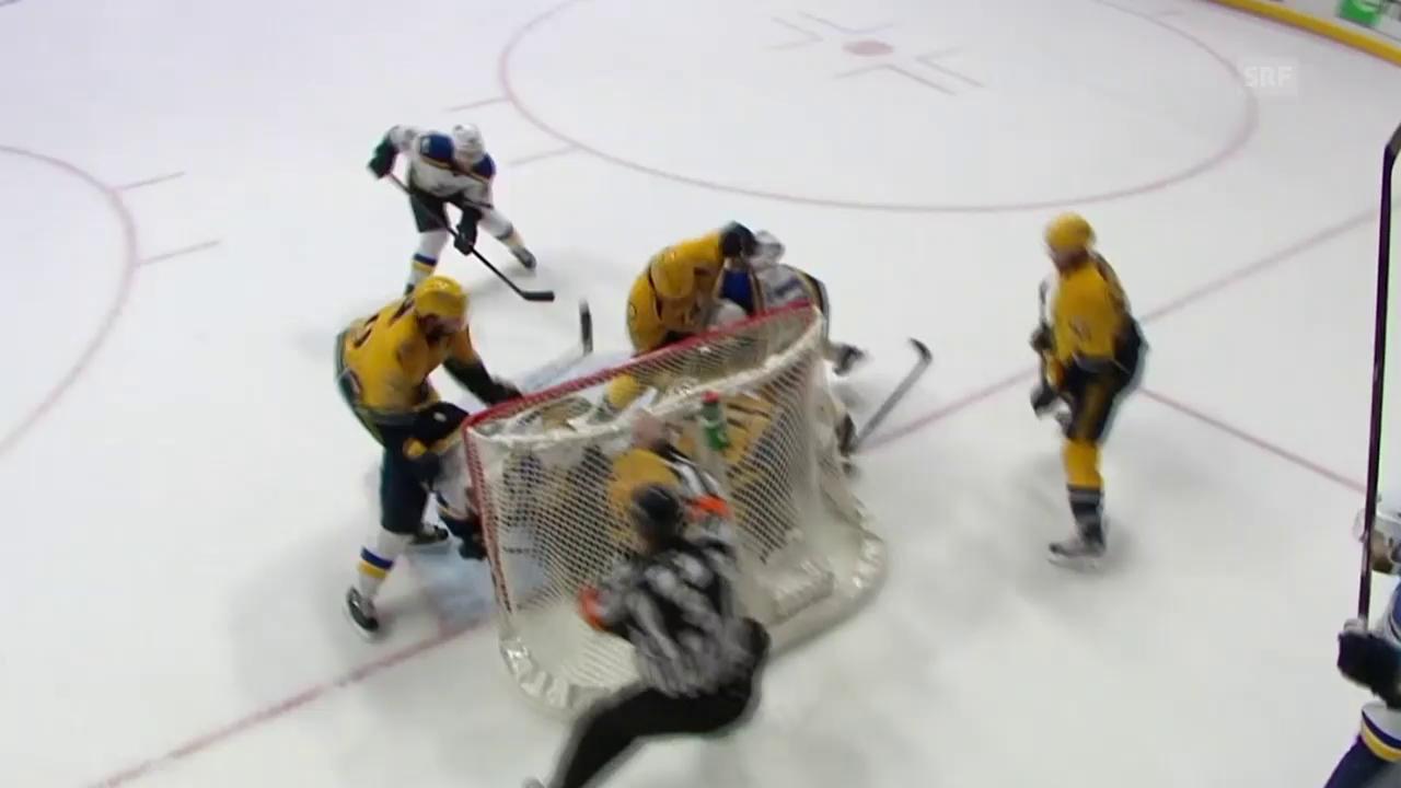Die Defensive – das Prunkstück der Predators (englisch)