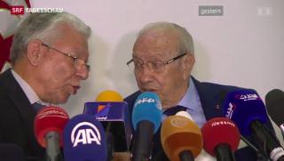 Video «Parlamentswahlen in Tunesien: Sieg der säkularen Parteien» abspielen