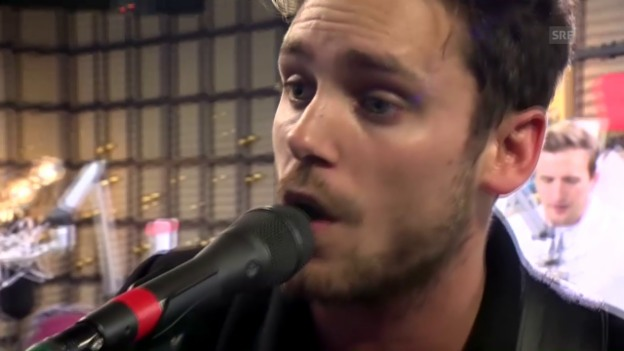 Video «Bastian Baker mit «Leaving Tomorrow»» abspielen