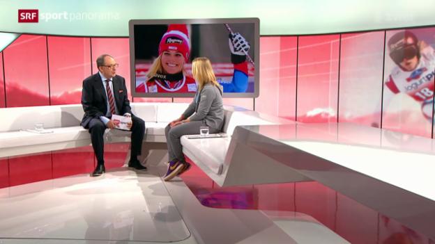 Video «Ski: Gespräch mit Lara Gut (III)» abspielen