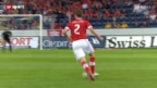 Video «Fussball: Schweiz - Rumänien» abspielen