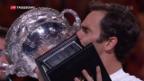 Video «Federer schreibt Tennisgeschichte» abspielen