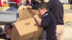 Video «Brenzlige Situation an der griechisch-mazedonischen Grenze» abspielen