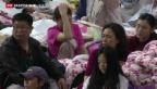 Video «Taucher dringen ins Innere des Schiffswracks ein» abspielen
