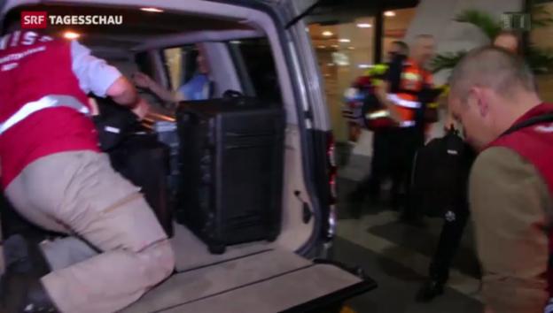 Video «Erste Hilfe aus der Schweiz» abspielen