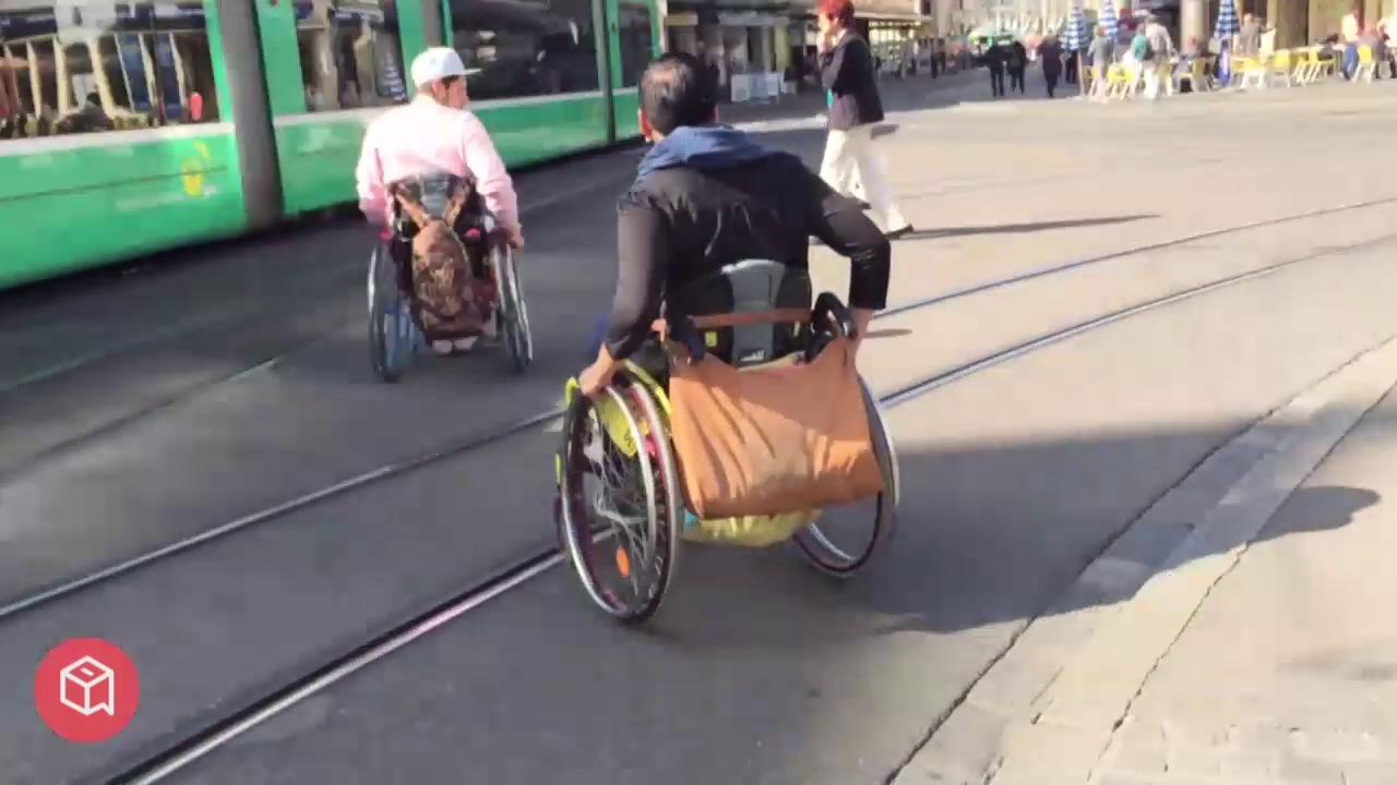 politbox-Erfahrungsbericht: Im Rollstuhl durch Basel