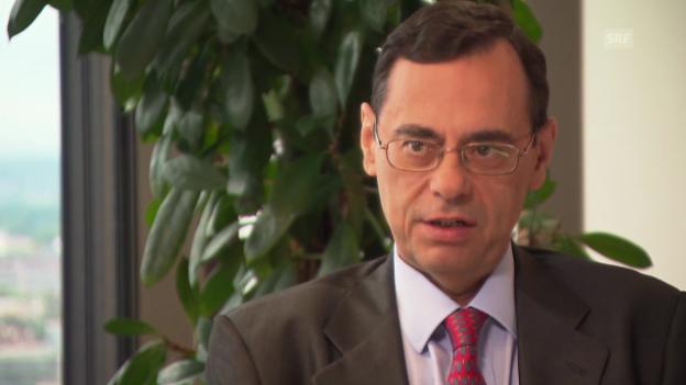 Video «Jaime Caruana im Interview mit Reto Lipp (engl.)» abspielen