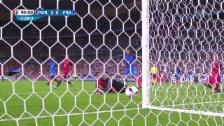 Video «Gignac scheitert in der 92. Minute am Pfosten» abspielen