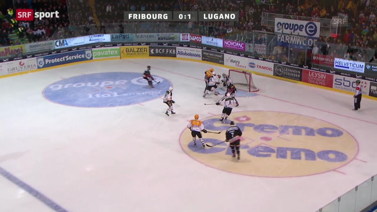 NLA: Fribourg-Gottéron - Lugano