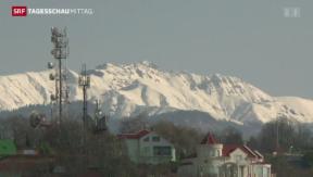 Video «Olympische Spiele in Sotschi beginnen» abspielen
